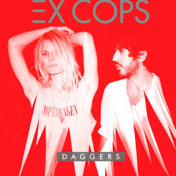 Ex Cops, Coverpic from the Album Daggers